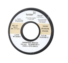 KESTER 일반납(노크린) 0.4mm 250g(Made in USA)
